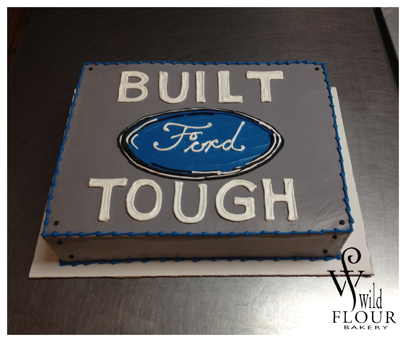 75 - Ford Cake *Made with permission from Ford*